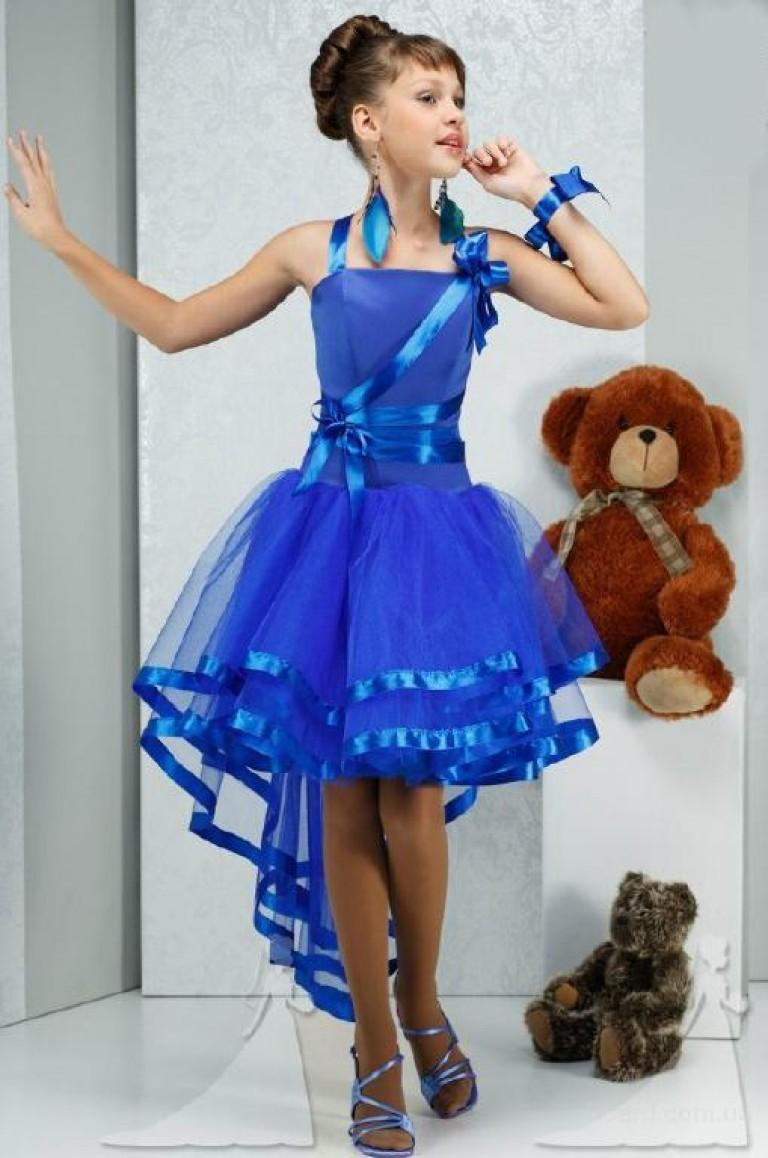 Вечернее детское платье своими руками