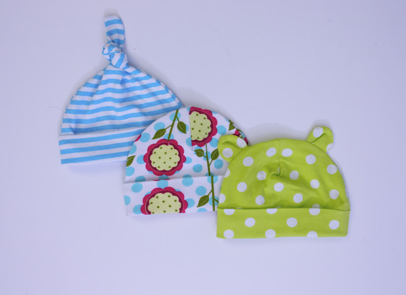 Трикотажная шапочка для новорожденного своими руками