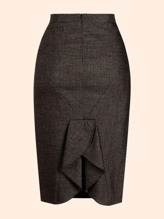 Виды разрез на юбки
