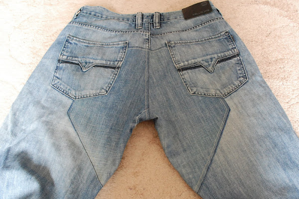 Заплатка на джинсах между ногами своими руками