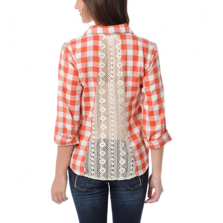 Как увеличить размер блузку своими руками 501