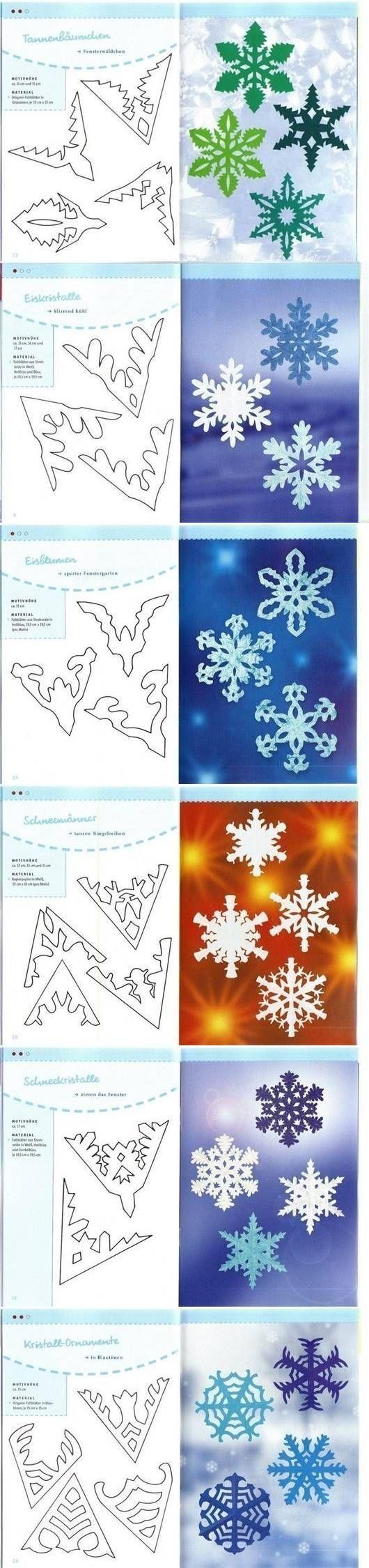 Интересная снежинка из бумаги своими руками
