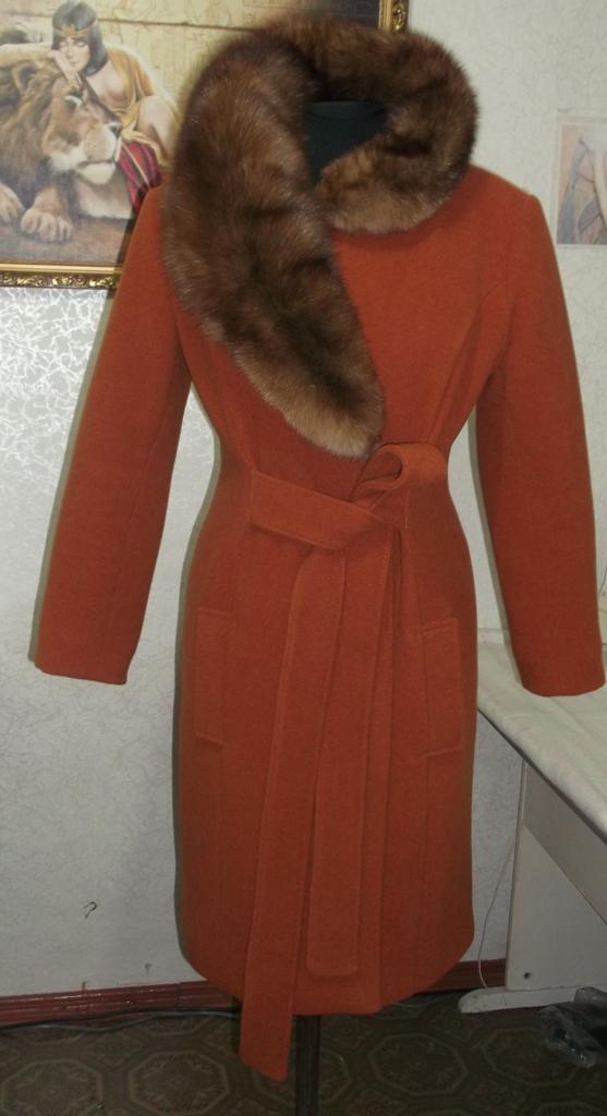 Как сшить пальто зимнее