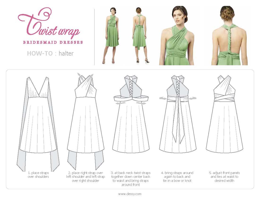 Как сшить платье трансформер 5