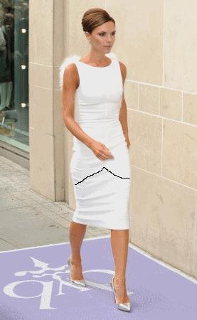 Как удлинить короткое атласное платье