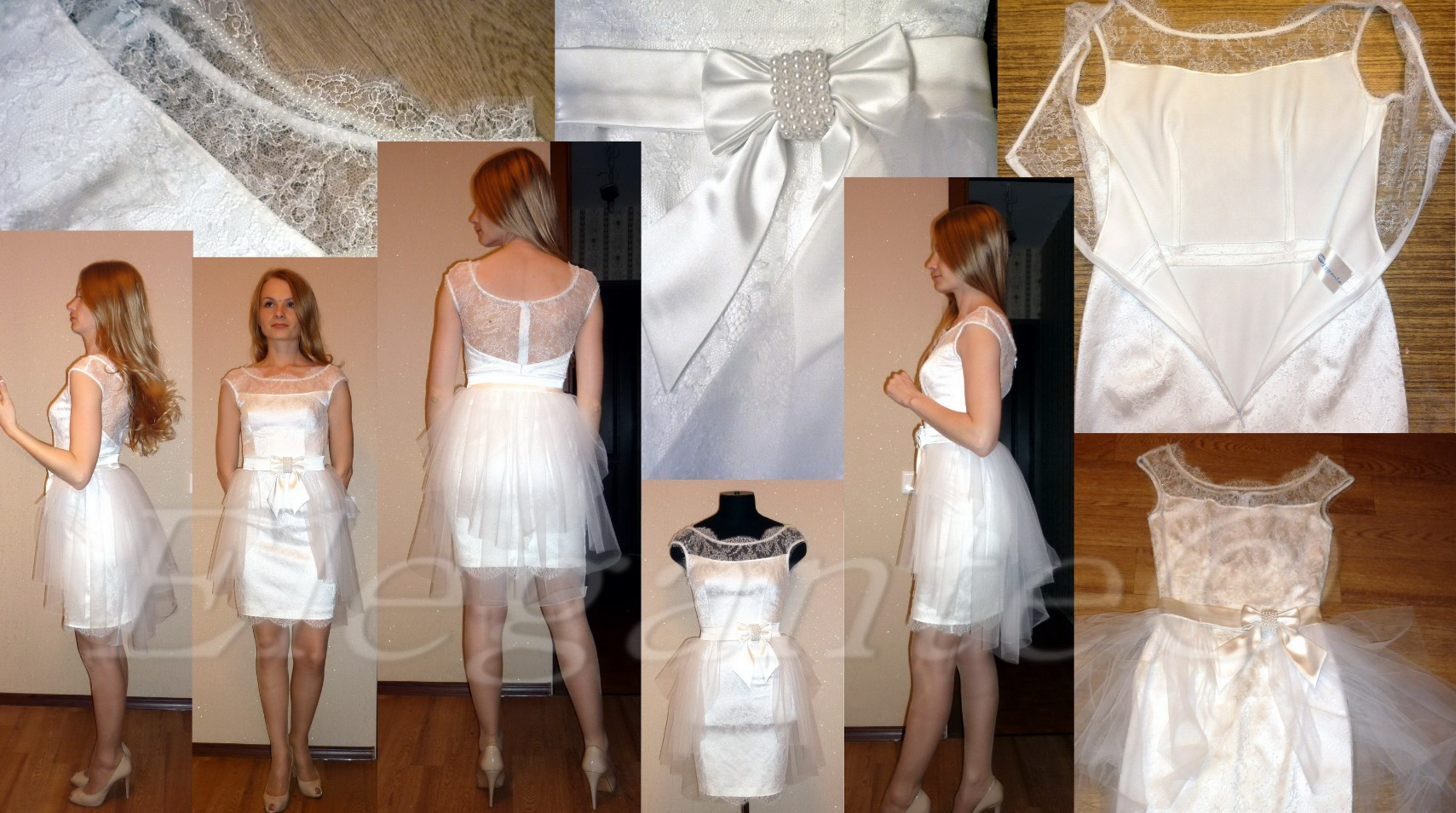 Все для свадебного платья сшить своими руками