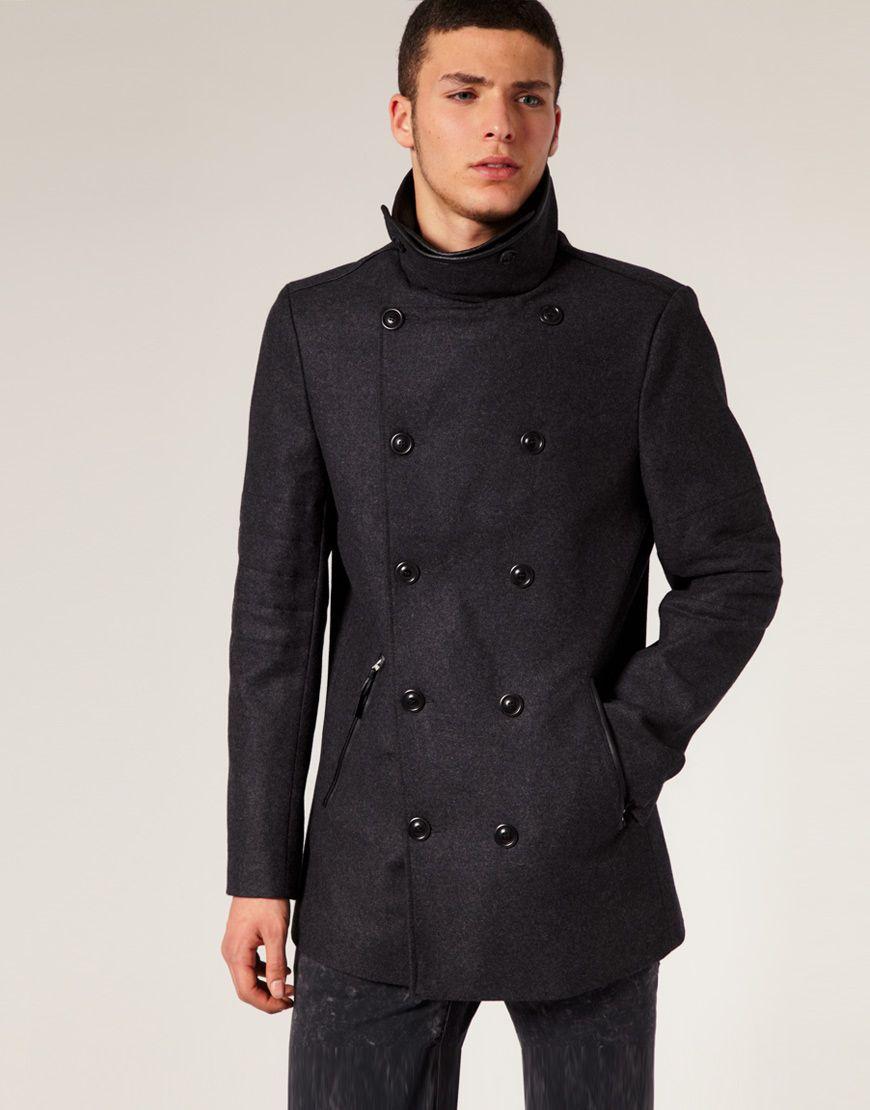 Молодежное пальто с выкройкой