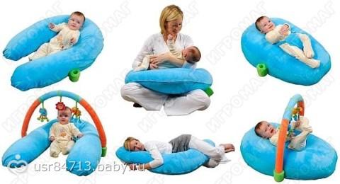Когда можно класть ребенка на подушку
