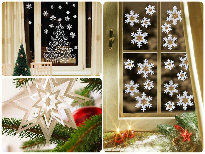 Новогоднее украшение снежинки своими руками