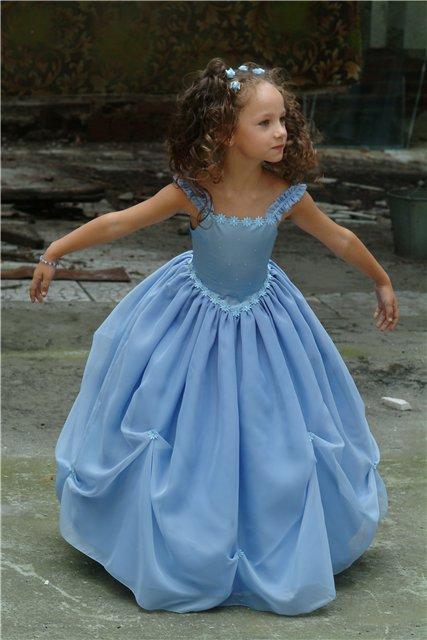 Платье для девочки с лифом сшить