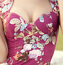 Лиф платья с чашечками выкройка