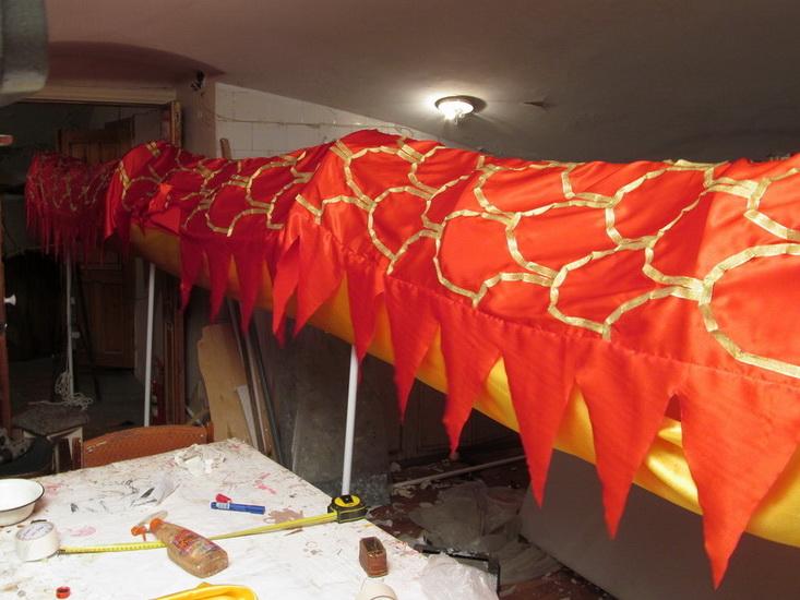 Дома как сделать дракон