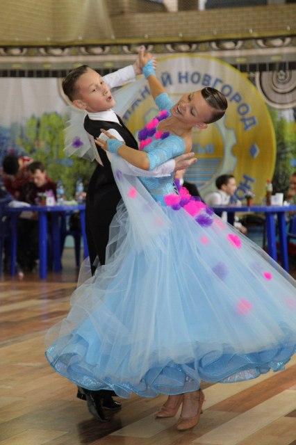 Костюм для спортивных бальных танцев