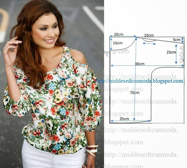 Блуза своими руками без рукавов