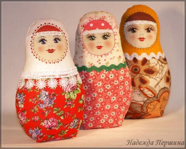 Игрушки в русском народном стиле