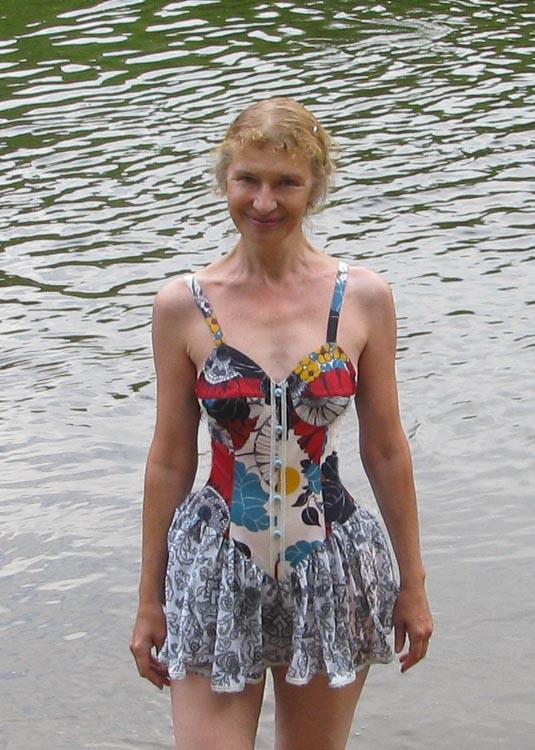 Как сшить юбку для купальника для воды