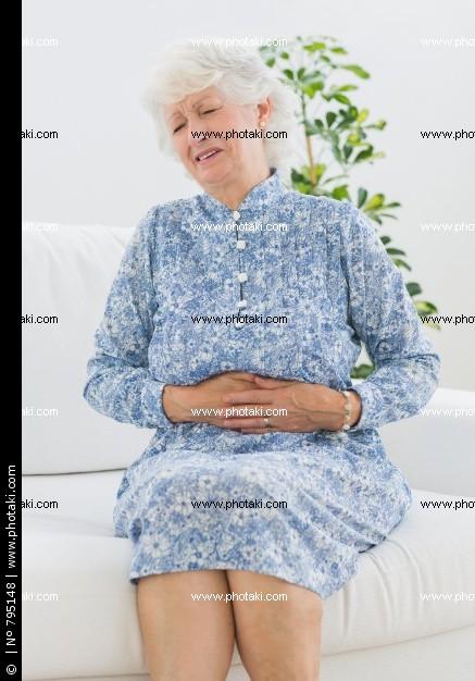 Почему у пожилых женщин растет живот