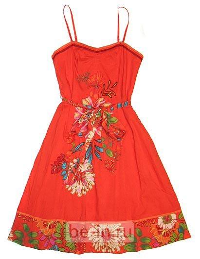 Платье сарафан рисунок