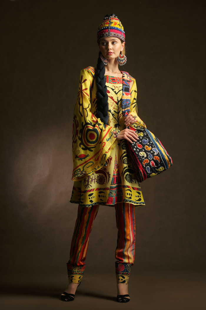 Национальные узбекские платья 105
