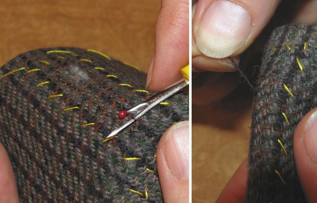 Как сделать разрезную петлю