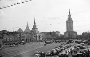 Фотографии Москвы 50х годов