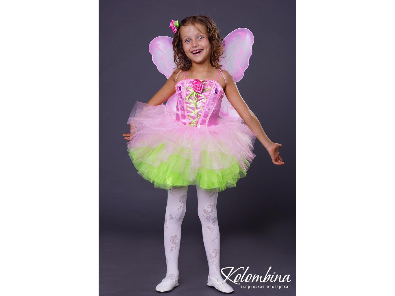 Платье бабочки на девочку