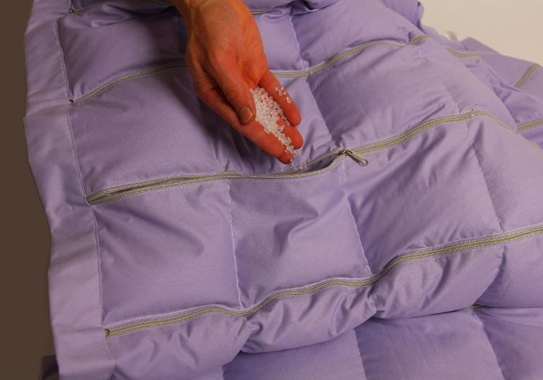 Наполнитель в одеяло своими руками