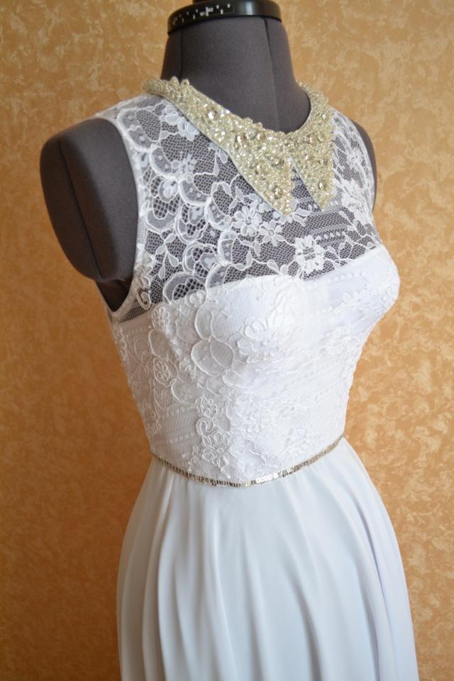 Пошив платья из кружева технология