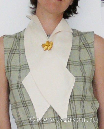 Модный воротник для платья своими руками