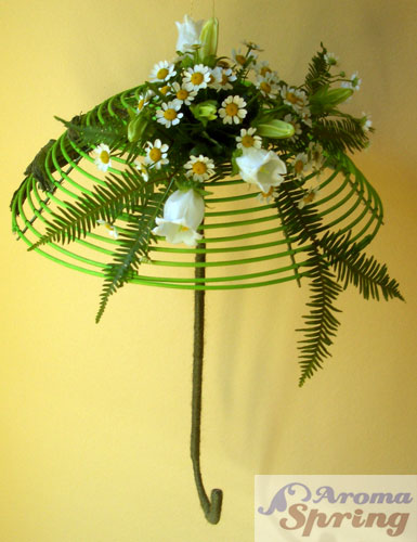 Декоративный зонт своими руками
