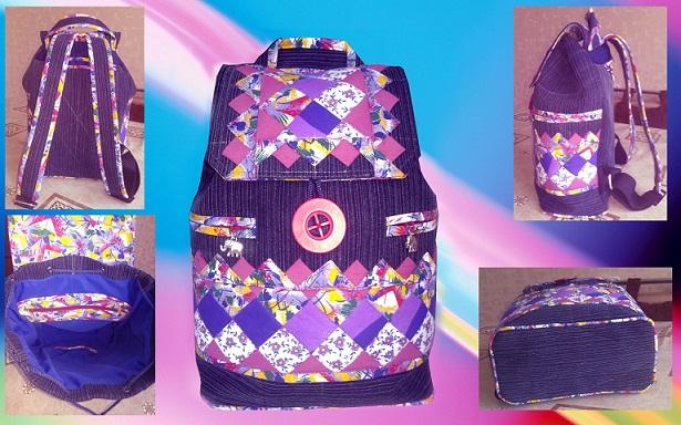 db56287707a6 Сумки и рюкзаки для детей. Идеи сумочек и утилизация обрезков.