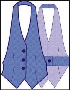 Как сшить жилетку с подкладкой выкройка женского жилета