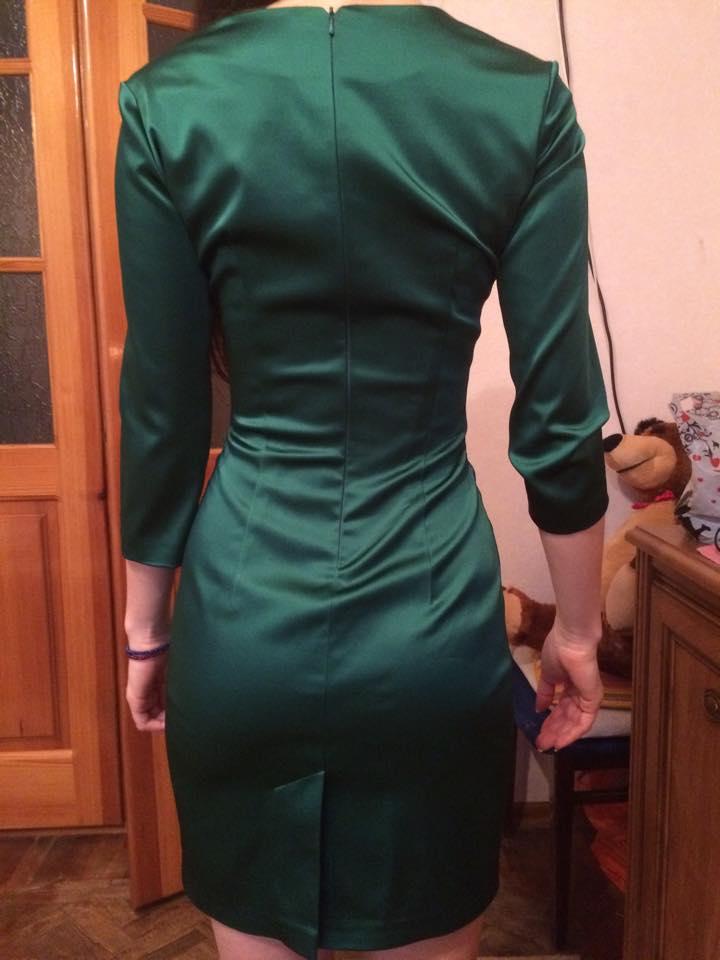 Посадка платья по спине