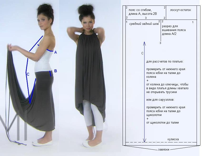 Платья трансформеры емами