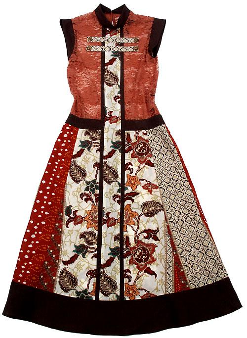 Платье комбинированное своими руками 119