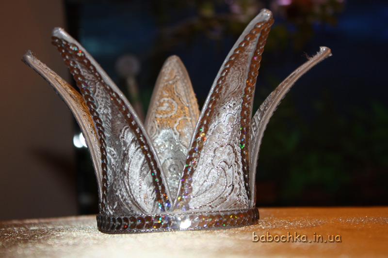Корона для золушки своими руками
