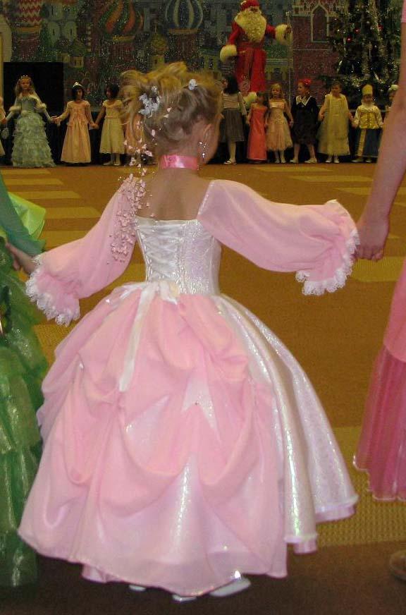 Платье сшить как у принцессы