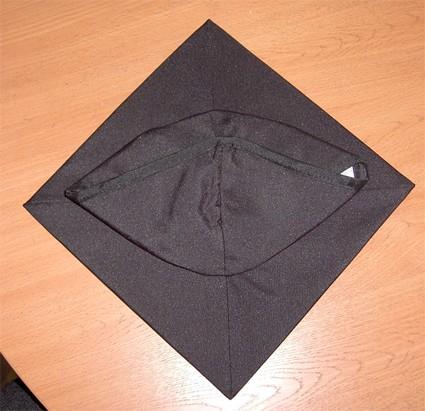 Как сделать шапочку бакалавра из бумаги