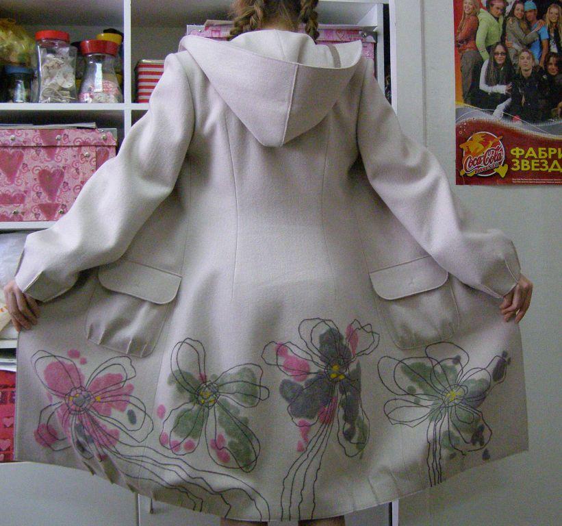 Декор пальто своими руками фото 92