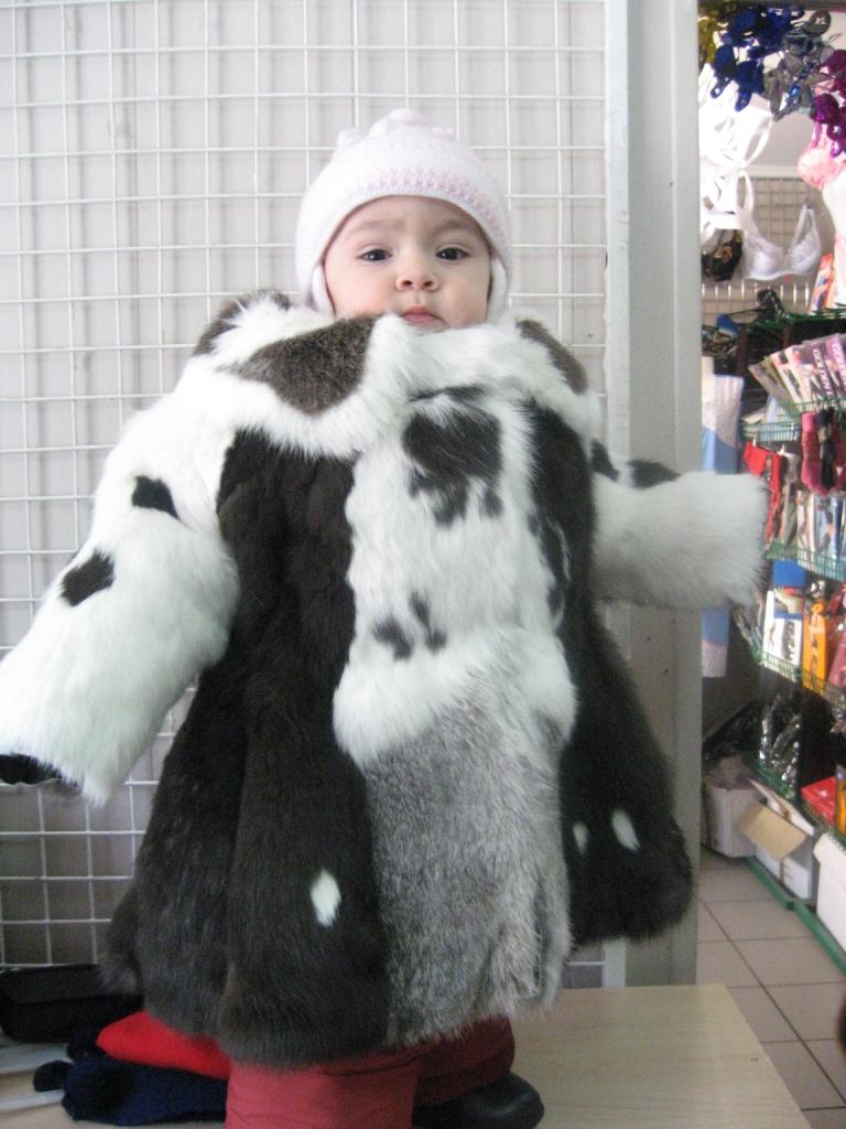 Шуба для ребенка своими руками