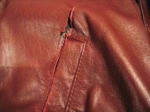 Ремонтируем кожаную куртку