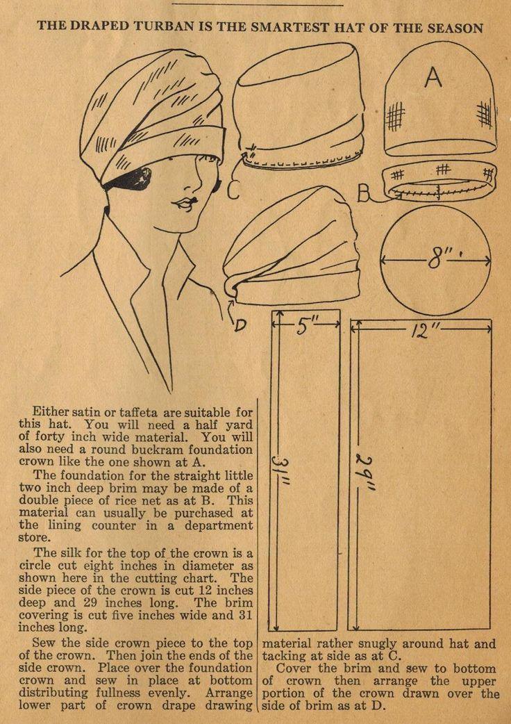 Выкройки шапочек для женщин
