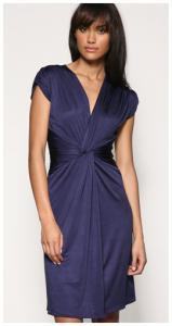 mango_slinky_ruched_front_dress_blue_issa_knockoff.jpg
