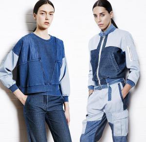sansovino_6_milan_2015_resort_cruise_pre_spring_women_fashion_denim_jeans_patchwork_indigo_bomber_cargo_pocket_tie_dye_sweatpant_raw_hem_frayed_leaves_01x.jpg