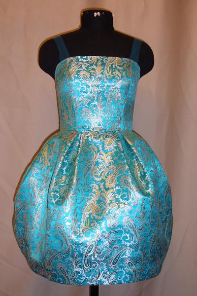 Платье своими руками из парчи