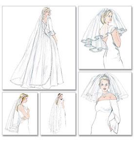Saloon :: Как раскроить свадебное платье