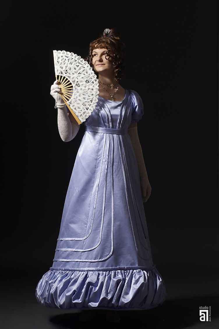 Женские платья в стиле бидермейер картинки