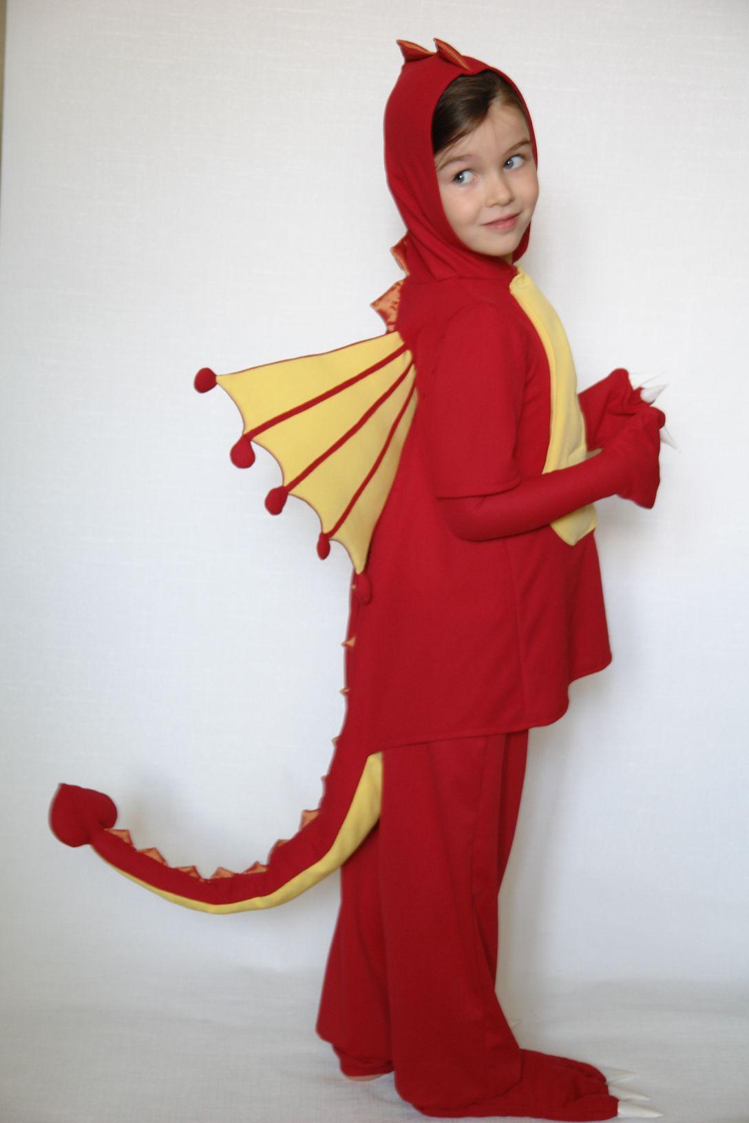 Костюм дракона своими руками для взрослых