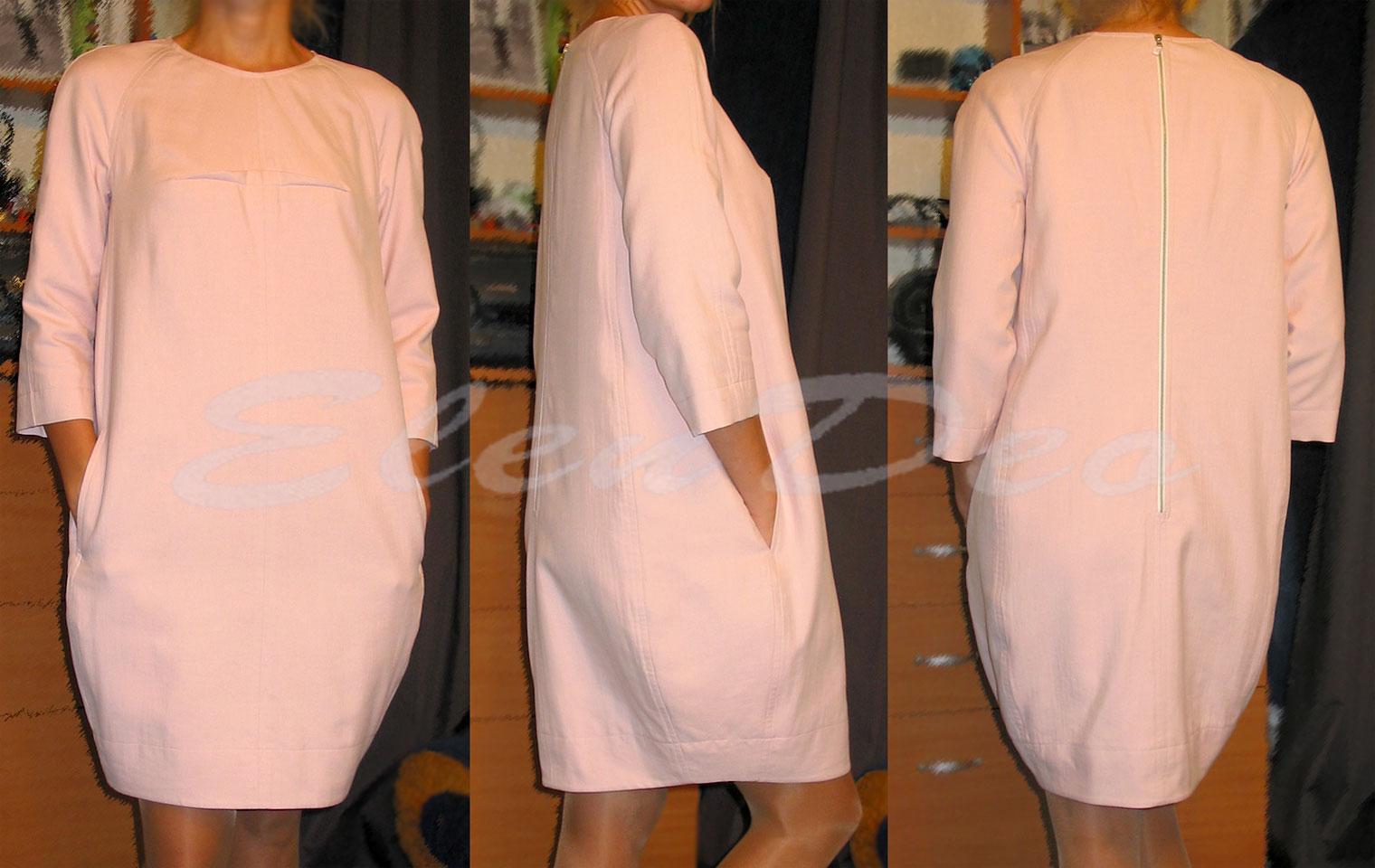 фото платье свободного покроя
