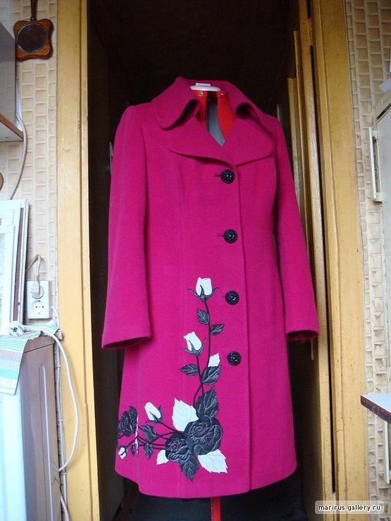 Чем декорировать пальто своими руками